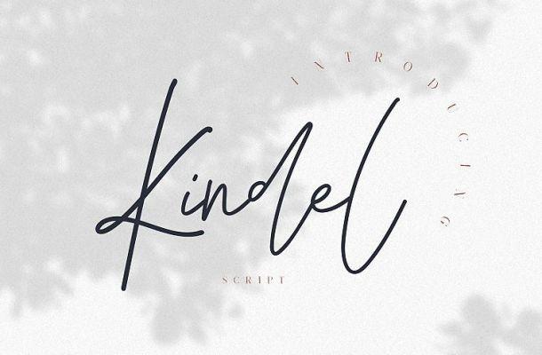 Kindel Script Font