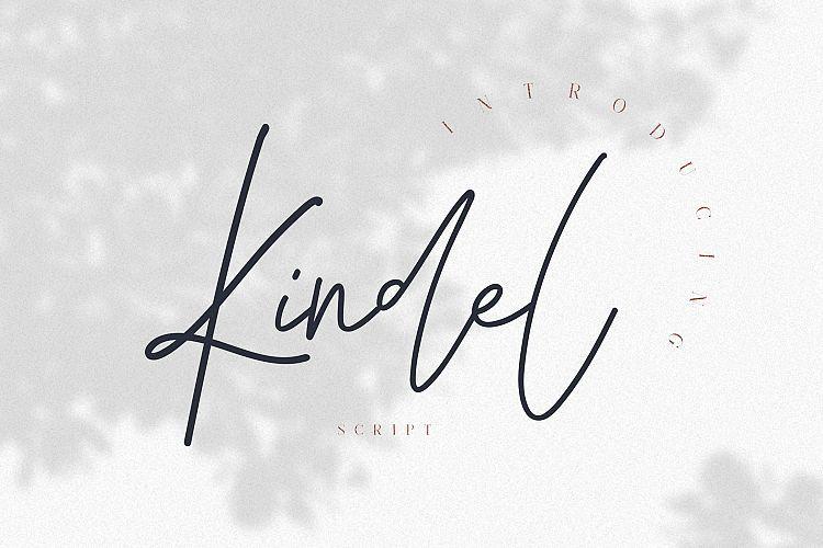 Kindel Script Font-1