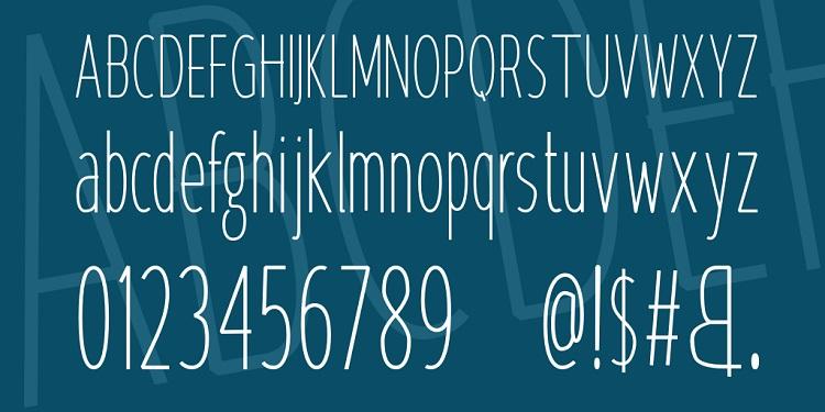 Krempeng Sans Font-2