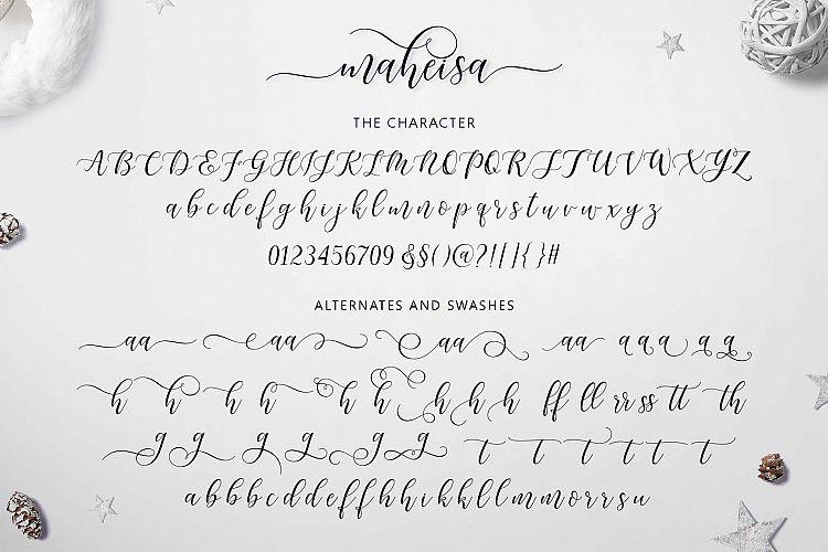 Maheisa Script Font-3
