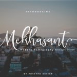 Mekhasant Handwritten Font