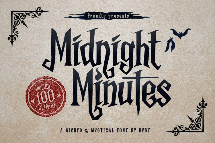 Midnight Minutes Font-1
