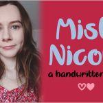 Misti Nicole Script Font