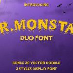 Mr. Monstar Font