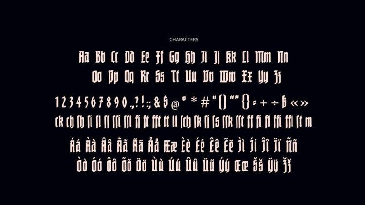 Nuernberg Display Font-2