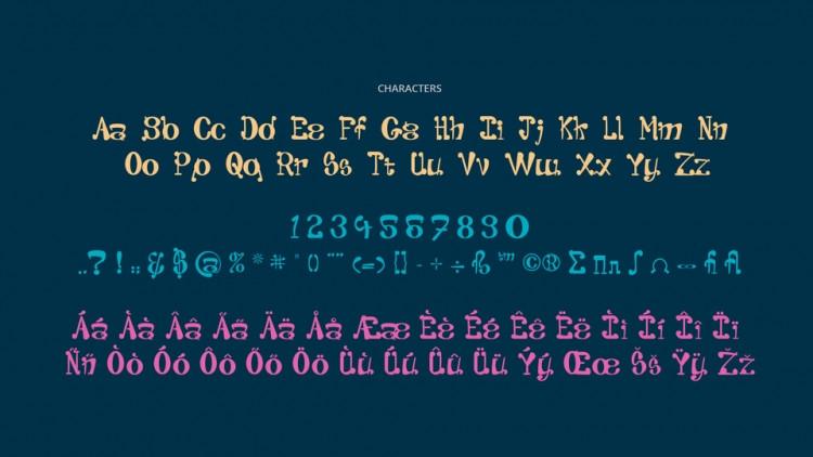 Pantaloons Display Font-2