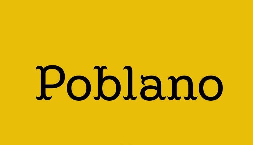 Poblano Font Family-1