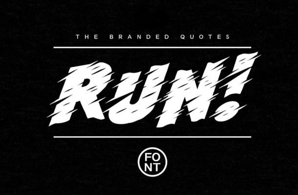 Run Font