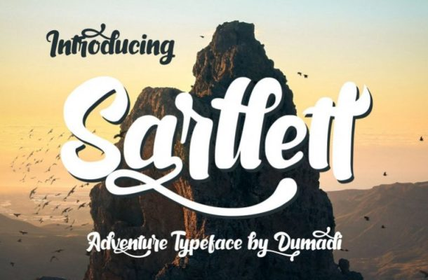Sarllett Script Font