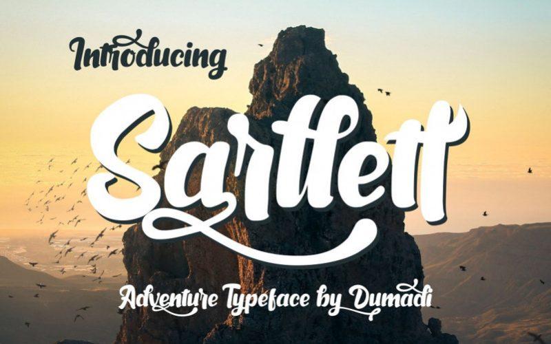 Sarllett Script Font-1