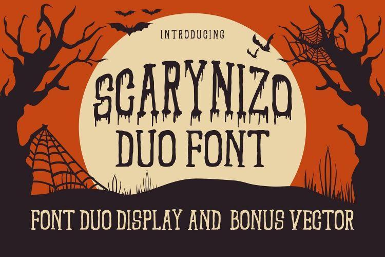 Scarynizo Font-1