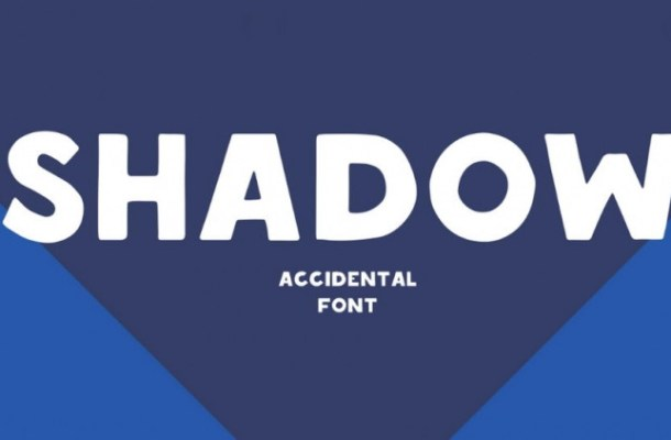 Shadow Display Font