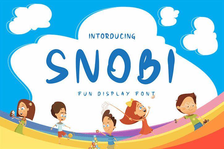 Snobi Display Font-1