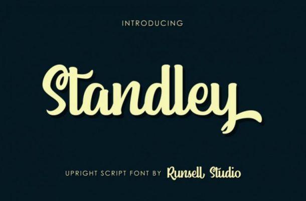 Standley Script Font
