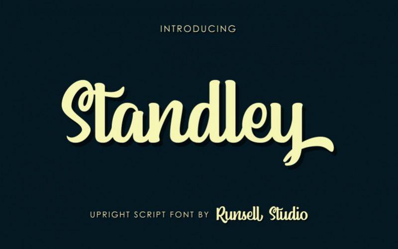 Standley Script Font-1