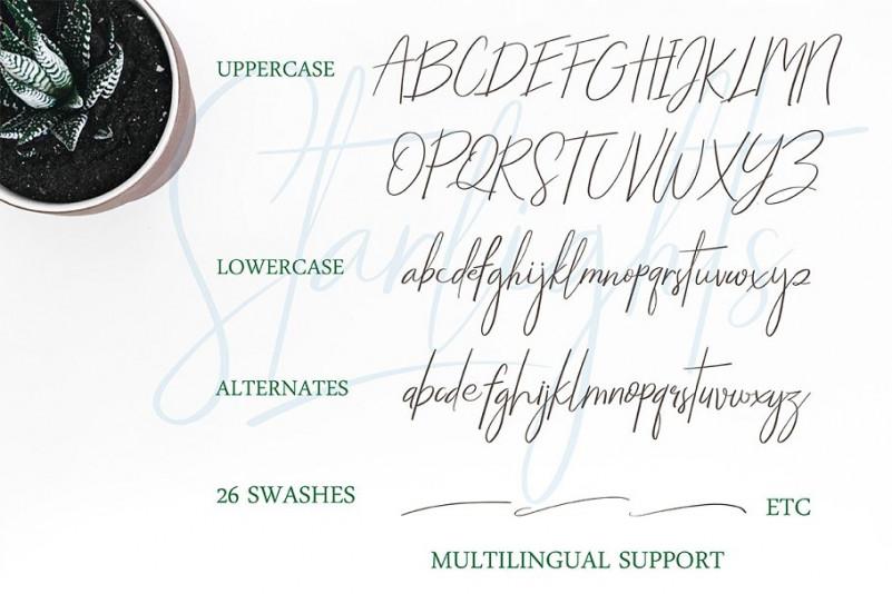 Starlights Script Font-3