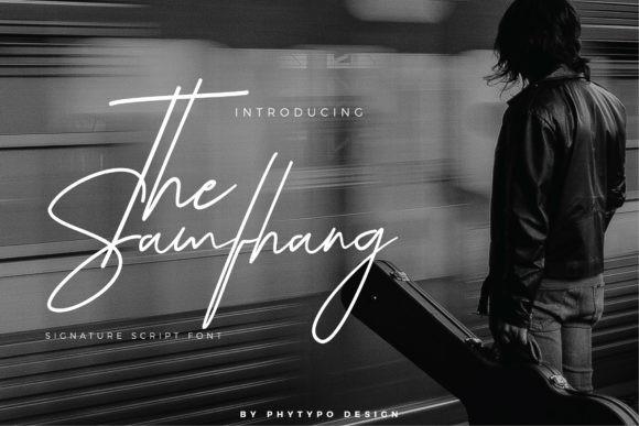 The Samfhang Font