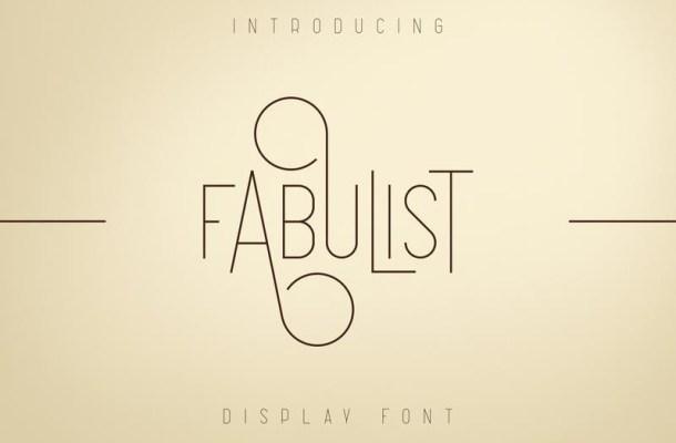 Fabulist Font