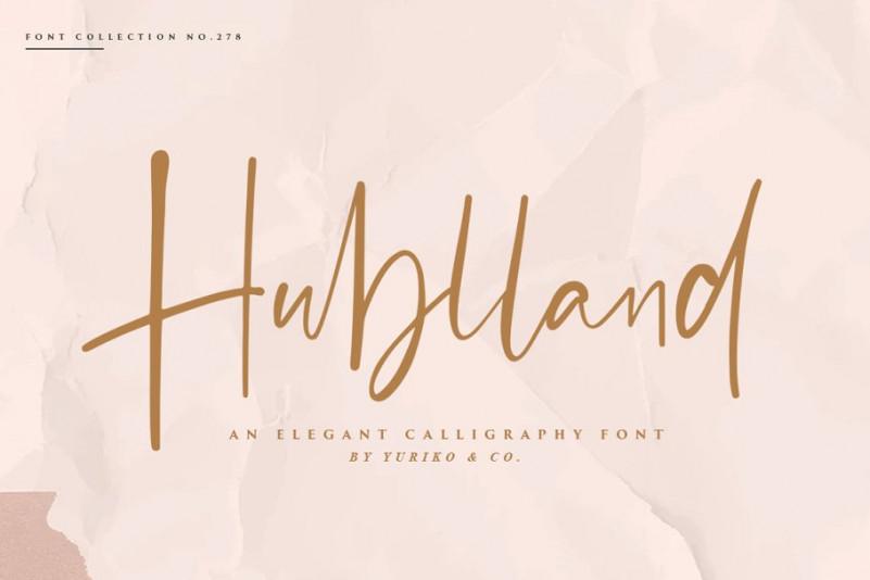 hublland-script-font-1
