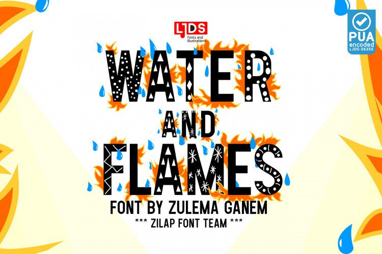 water-and-flames-font-1