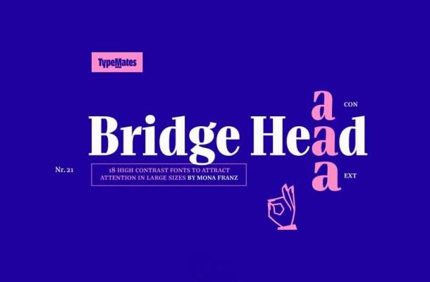 Bridge Head Font Family