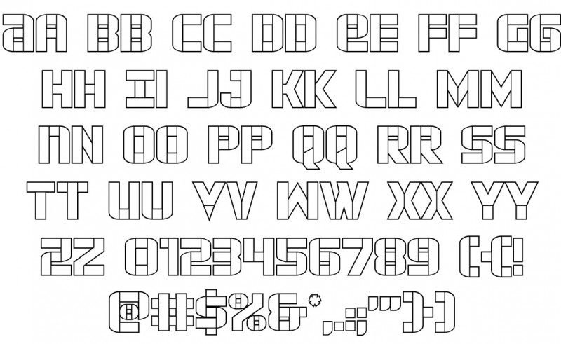 Force-Commander-Font-3