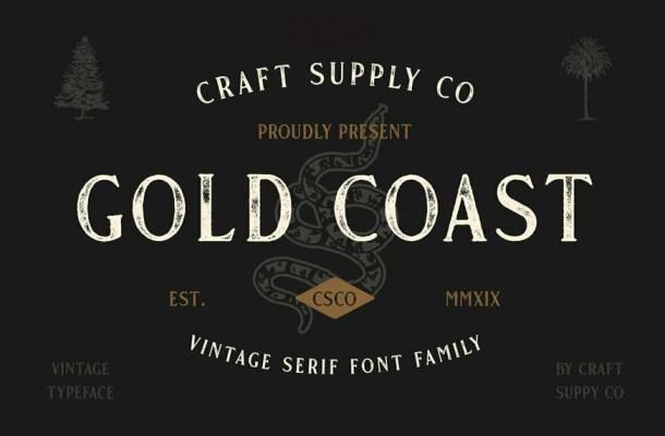 Gold Coast Font