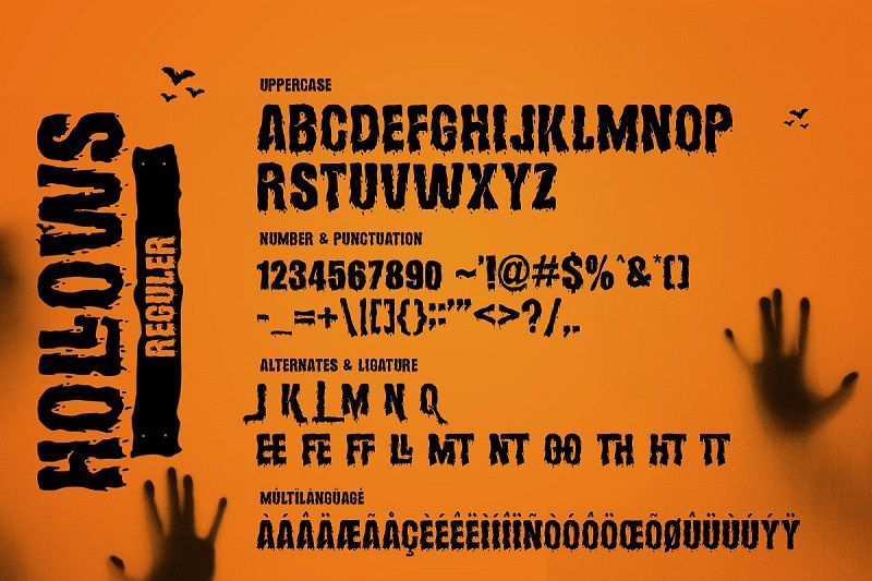 Hollows Font-3