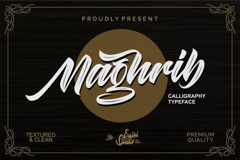 Maghrib Font-1