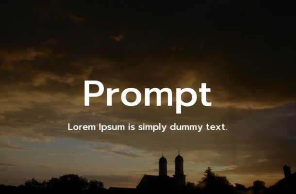 Prompt Font Family