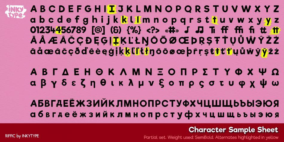 Riffic Font-3