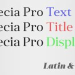 Anglecia Pro Display Font Family (Free 2 Type)