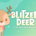 Blitzen Deer Font