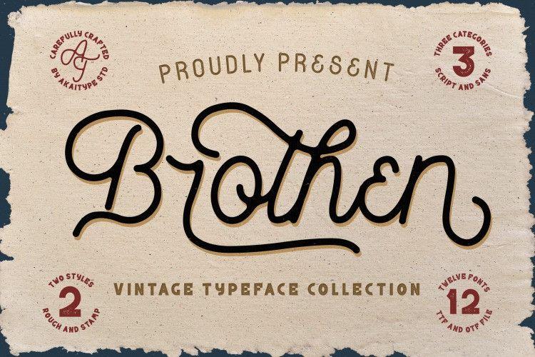 brothen-vintage-font