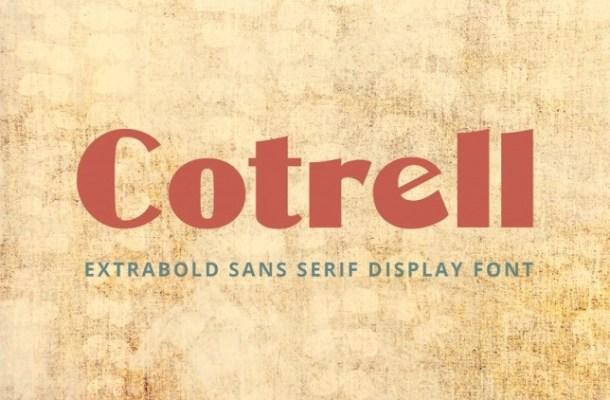 Cotrell Font