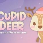 Cupid Deer Font