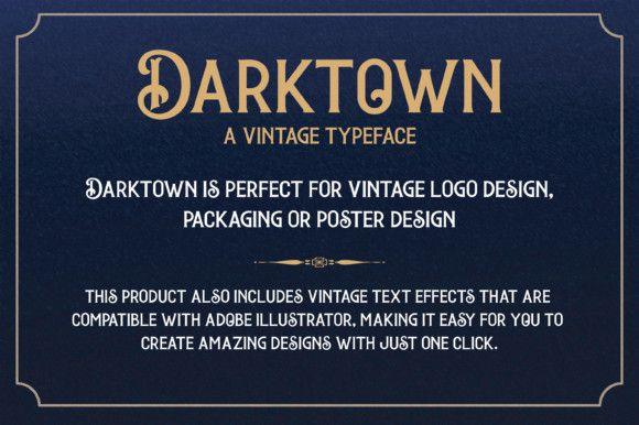 darktown-font-3