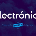Electronica Font Family