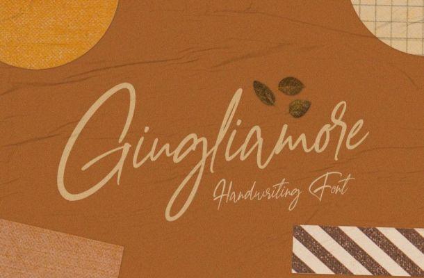 Giugliamore Handwriting Font