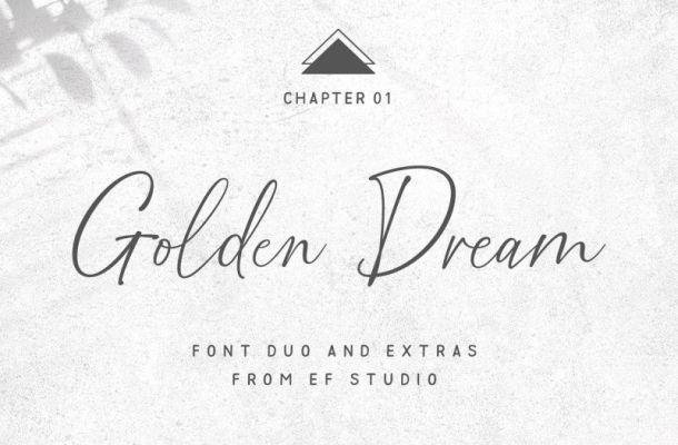 Golden Dream Script Font