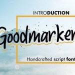 Goodmarket Handwritten Font