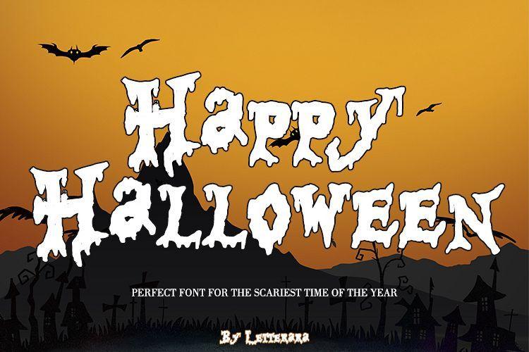 Happy Halloween Font Dafont Free
