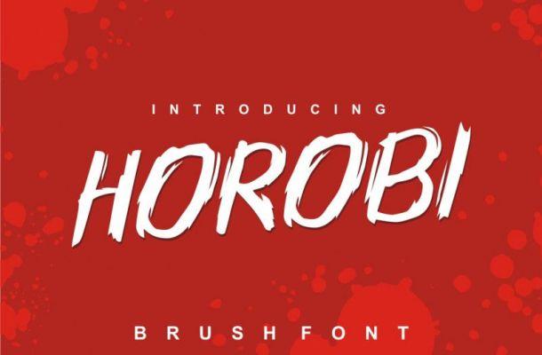Horobi Font