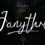 Janythri Font