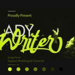 Lady Writer Font