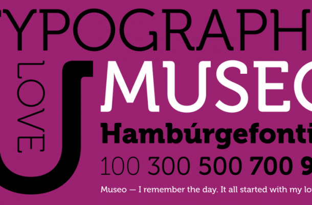 Museo Font Family (Free 3 Type)