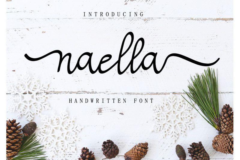 naella-handwritten-font-1
