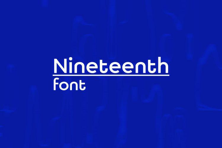 nineteenth-font-1