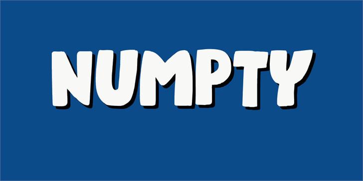 numpty-font