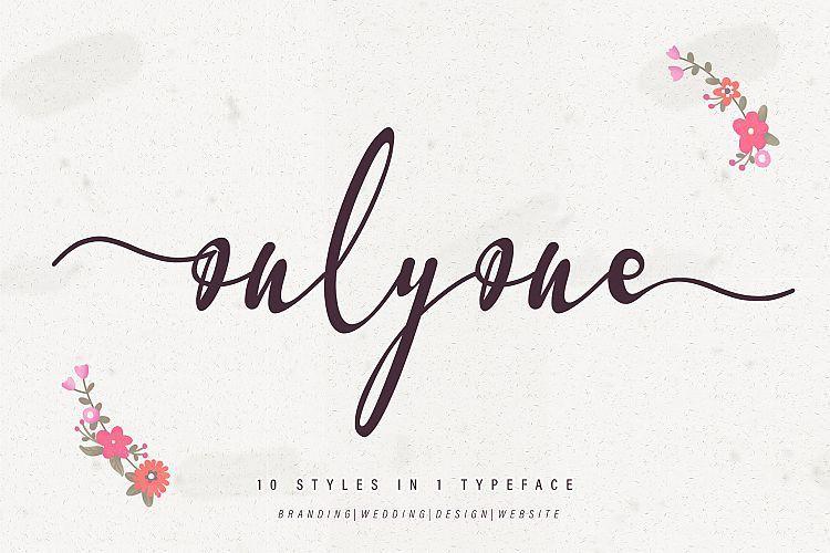 onlyone-font-1